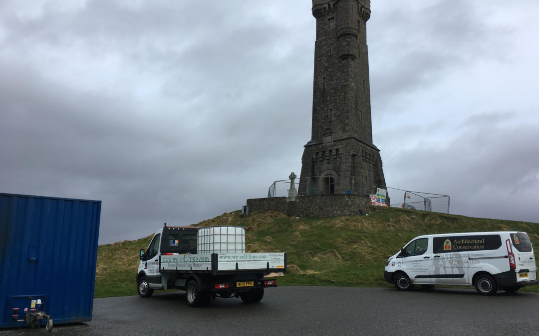 Restoring the Lewis War Memorial