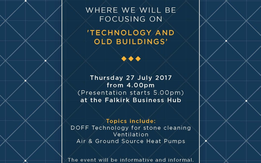 CPD Event Technology and Old Buildings