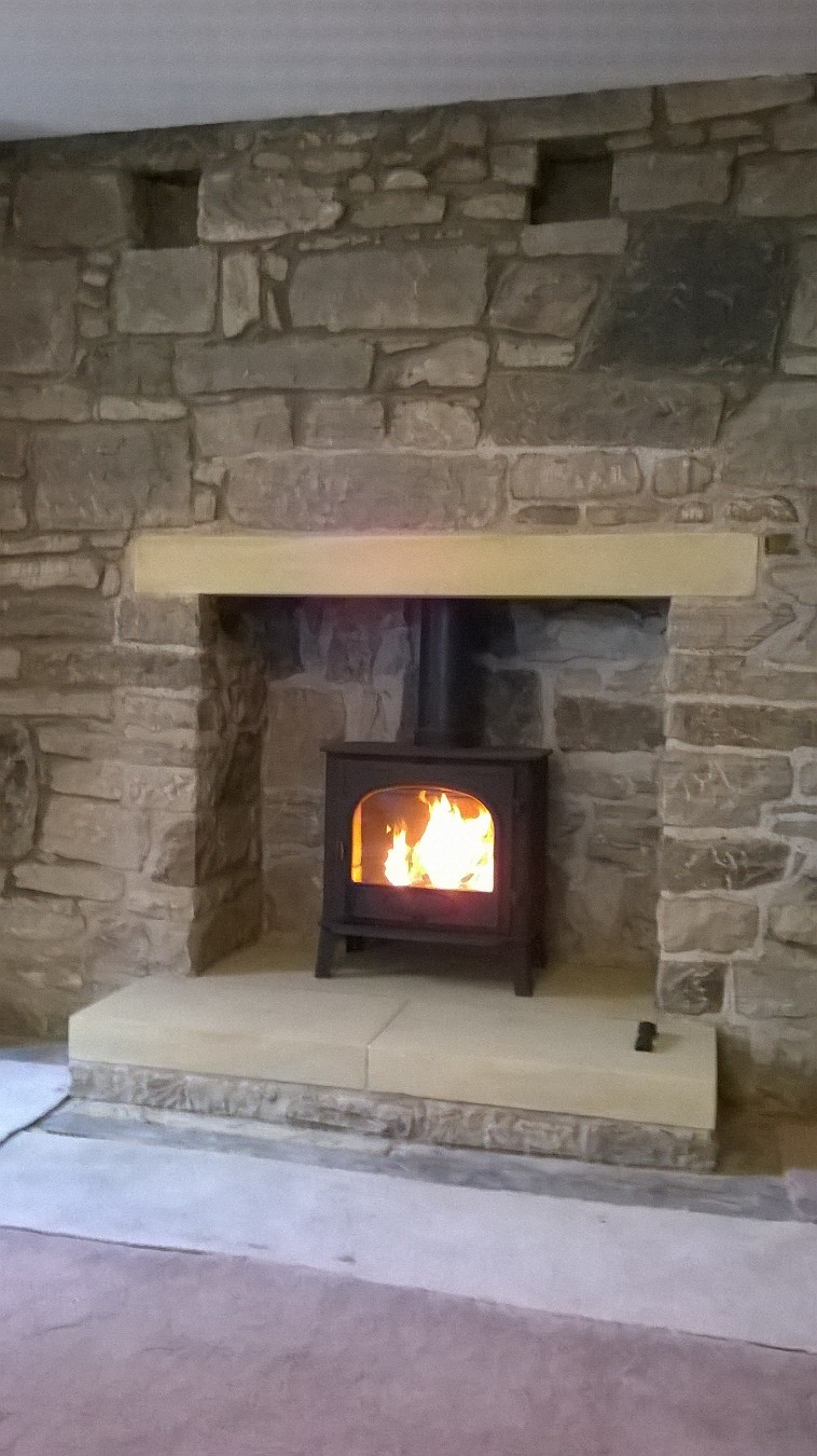 and sandstone natural fireplace ireland stone fireplaces thin insert stove with